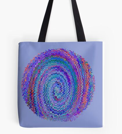 Circle of Colours - Abstract Tote Bag