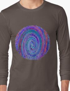 Circle of Colours - Abstract Long Sleeve T-Shirt