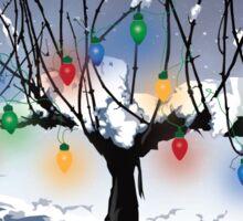 Napa Valley - Holiday Vine Sticker