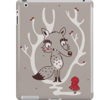 Hello big wolf iPad Case/Skin
