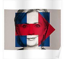 hillary clinton 2016 poster Poster