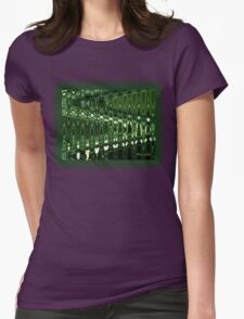 Go Green ~ Good Vibrations Womens Fitted T-Shirt