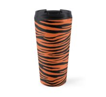 0264 Flame Tiger Travel Mug