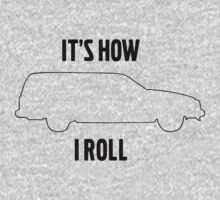 It's how I roll 740 wagon One Piece - Long Sleeve