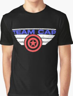 "TEAM CAP ""Civil War 2016"" Graphic T-Shirt"