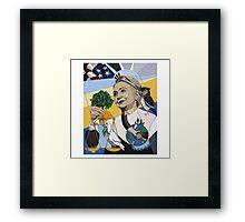 Hillary for President Framed Print