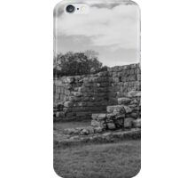 Black Carts Turret on Hadrian's Wall iPhone Case/Skin