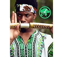 Denzel Curry Samuri Woods Photographic Print