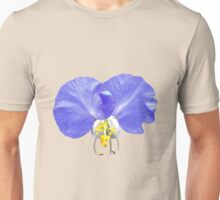 Exquisite Girly Blue White Yellow Floral Unisex T-Shirt