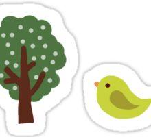 Little Nature Green Sticker
