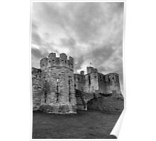 Warkworth Castle, Northumberland, England Poster