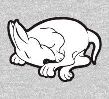 English Bull Terrier Sleeping  One Piece - Short Sleeve