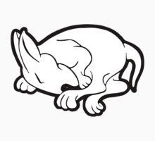 English Bull Terrier Sleeping  Kids Tee