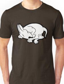 English Bull Terrier Sleeping  Unisex T-Shirt