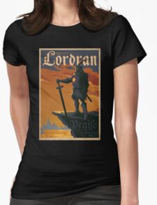 Lordran Dark Soul Womens Fitted T-Shirt