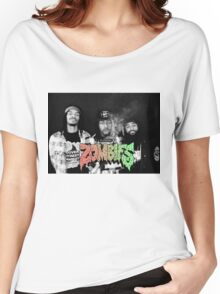 Flatbush Zombies Black & White Women's Relaxed Fit T-Shirt