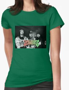 Flatbush Zombies Black & White Womens Fitted T-Shirt