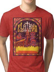 Flatbush Zombies Church  Tri-blend T-Shirt