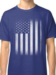 Grunge Look American Flag Classic T-Shirt