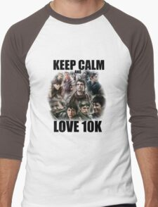 Keep Calm and Love 10K - Z Nation Shirt Men's Baseball ¾ T-Shirt