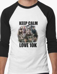 Keep Calm and Love 10K - Z Nation Shirt Men's Baseball ¾ T-Shirt