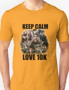 Keep Calm and Love 10K - Z Nation Shirt Unisex T-Shirt