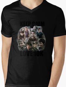 Keep Calm and Love 10K - Z Nation Shirt Mens V-Neck T-Shirt