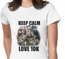 Keep Calm and Love 10K - Z Nation Shirt Womens Fitted T-Shirt