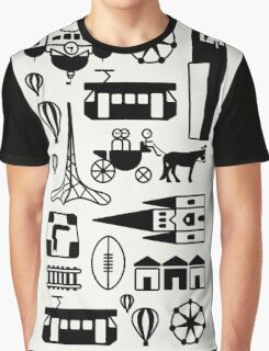 Icons of Melbourne Graphic T-Shirt