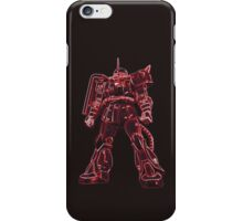 Three times faster (Zaku 2) iPhone Case/Skin