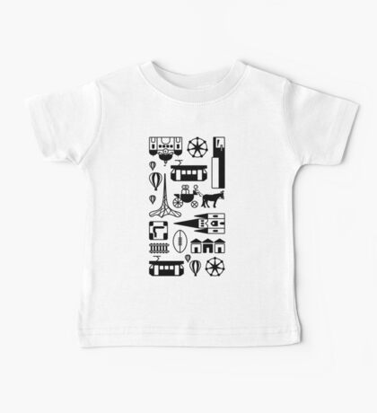 Icons of Melbourne Baby Tee