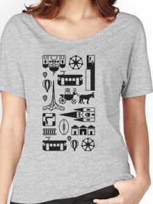 Icons of Melbourne Women's Relaxed Fit T-Shirt