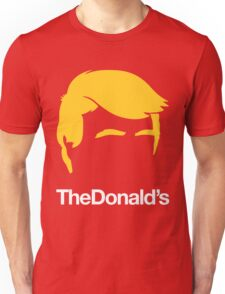 TheDonald's   Red Unisex T-Shirt