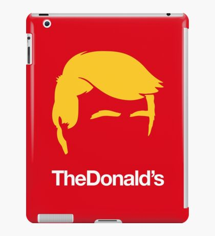 TheDonald's | Red iPad Case/Skin