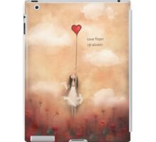 loVe from up above iPad Case/Skin