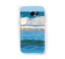 Abstract vibrant splashing waves Samsung Galaxy Case/Skin