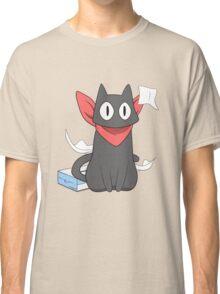 nichijou sakamoto destroying tissue box anime manga shirt Classic T-Shirt