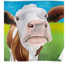 Gertrude - The Gentle Cow Poster