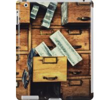 Filing System iPad Case/Skin