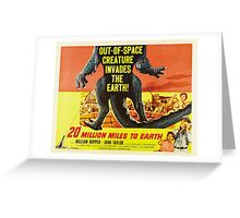 20 million miles to earth 04 Greeting Card