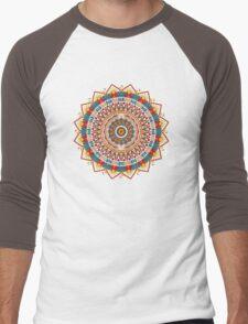 Crystalline Harmonics - Tribal Men's Baseball ¾ T-Shirt