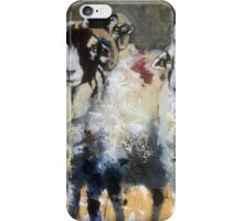 Posing Swaledales iPhone Case/Skin