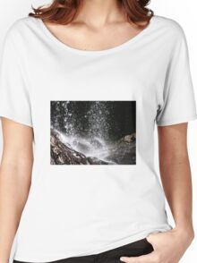 Waterfall Tamborine Mountain Gold Coast Women's Relaxed Fit T-Shirt