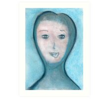 Portrait of The Visitor, Welcome To Stay Art Print