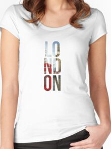 London Town Women's Fitted Scoop T-Shirt