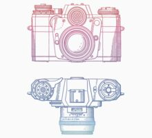 Vintage Photography - Contarex (Multi-colour) by brainsontoast