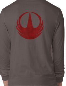 rebel alliance rogue one starbird Long Sleeve T-Shirt