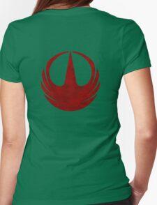 rebel alliance rogue one starbird Womens Fitted T-Shirt