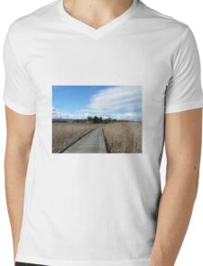Tamar Island Walkway Launceston Tasmania Mens V-Neck T-Shirt