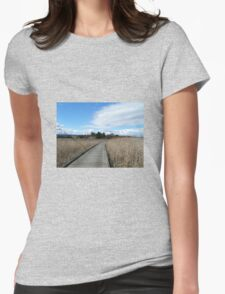 Tamar Island Walkway Launceston Tasmania Womens Fitted T-Shirt